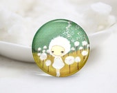 10mm 12mm 14mm 16mm 18mm 20mm 25mm 30mm Handmade Round Glass Cute Photo Cabochons Image Glass Cover (P2575)
