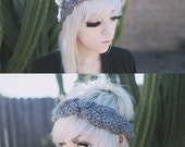 Hera - Handmade Crochet Braided Headband