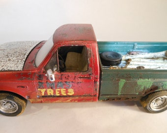 Scale Model, Ford Pickup Truck, Classicwrecks,Rusted Junk