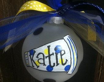 Cheerleader Ornament, Christmas ornament