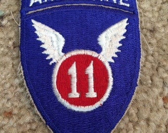 Vintage Military Patch 11th Airborne Patch