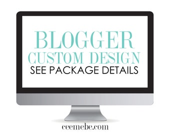 STYLE Blogger Custom Design