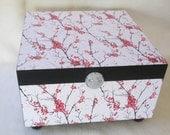 Keepsake Box - Large Keepsake Box - Japanese - Shower Gift - Wedding Gift