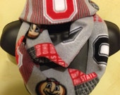 The Ohio State Buckeye Infinity Fleece Scarf