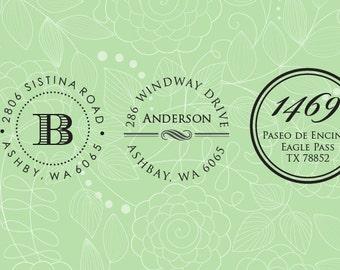 Return address embossing seal, wedding invitation embosser