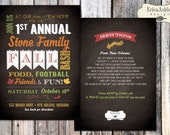 Fall Party Invitation - 5 X 7  (Digital File Version Available)