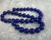 AAA GRADE Round Blue Sapphire Gemstone Beads  10MM