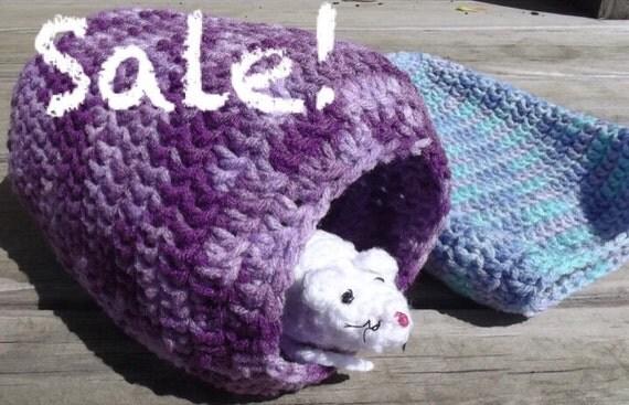 2 Guinea Pig, Rat or Ferret Houses / Sacks - Any Color -Sale