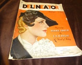 RESERVED FOR lboop - Delineator Vintage Magazine March 1935 Fashions, Fiction, Interior Decorating, Beauty
