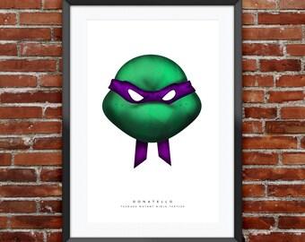 """TMNT  Donatello Print 11X17"""""""