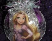 Rapunzel Ornament, Christmas Ornament, Rapunzel Christmas Ornament.