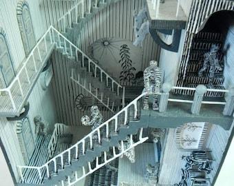M.C.Escher inspired diorama