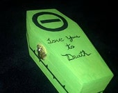 Type O Negative Coffin Box Peter Steele goth keepsake Memorabilia