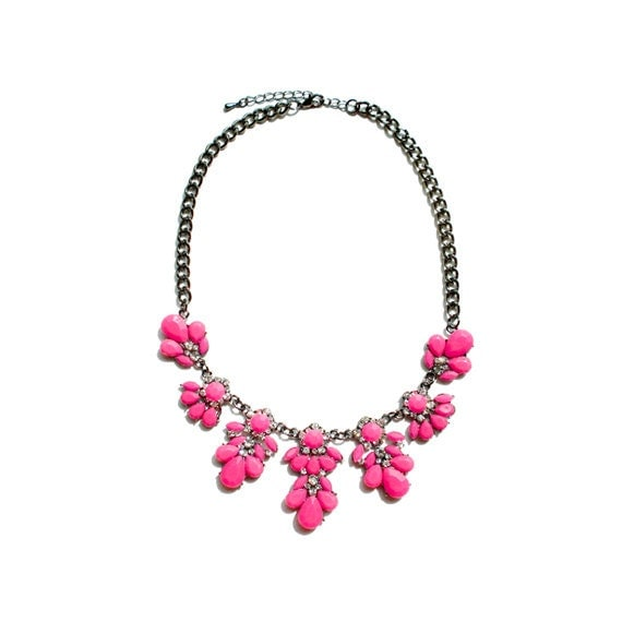 Blossom Necklace - Pink