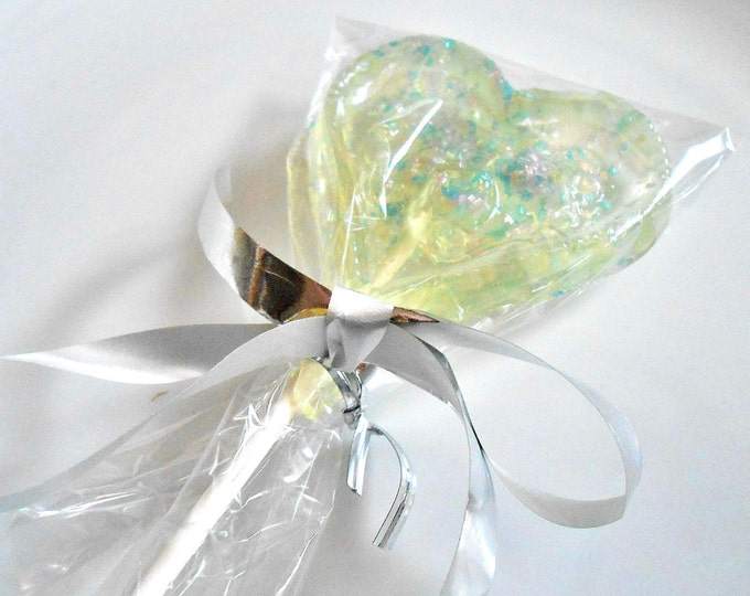 Valentines Day Hearts, VALENTINE GIFT, Champagne Lollipops, Party Favors, Sweetheart Gift, Sparkles,