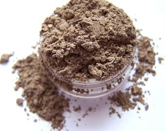 Mineral Eyeshadow -Metallic Crucible Gold Eyeshadow - Metallic Gold Eyeliner -  Vegan Shadow - Vegan Makeup