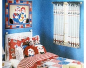 Bedding Pattern Simplicity 9977 Quilt Curtains Bed Skirt Pillows