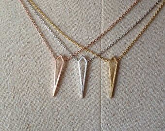 Dagger Necklace, Dainty Necklace