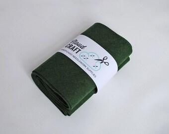 100% Wool Felt Roll - 12x90cm - Forest