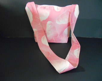 Handmade Cotton Candy Print Purse, over the chest strap
