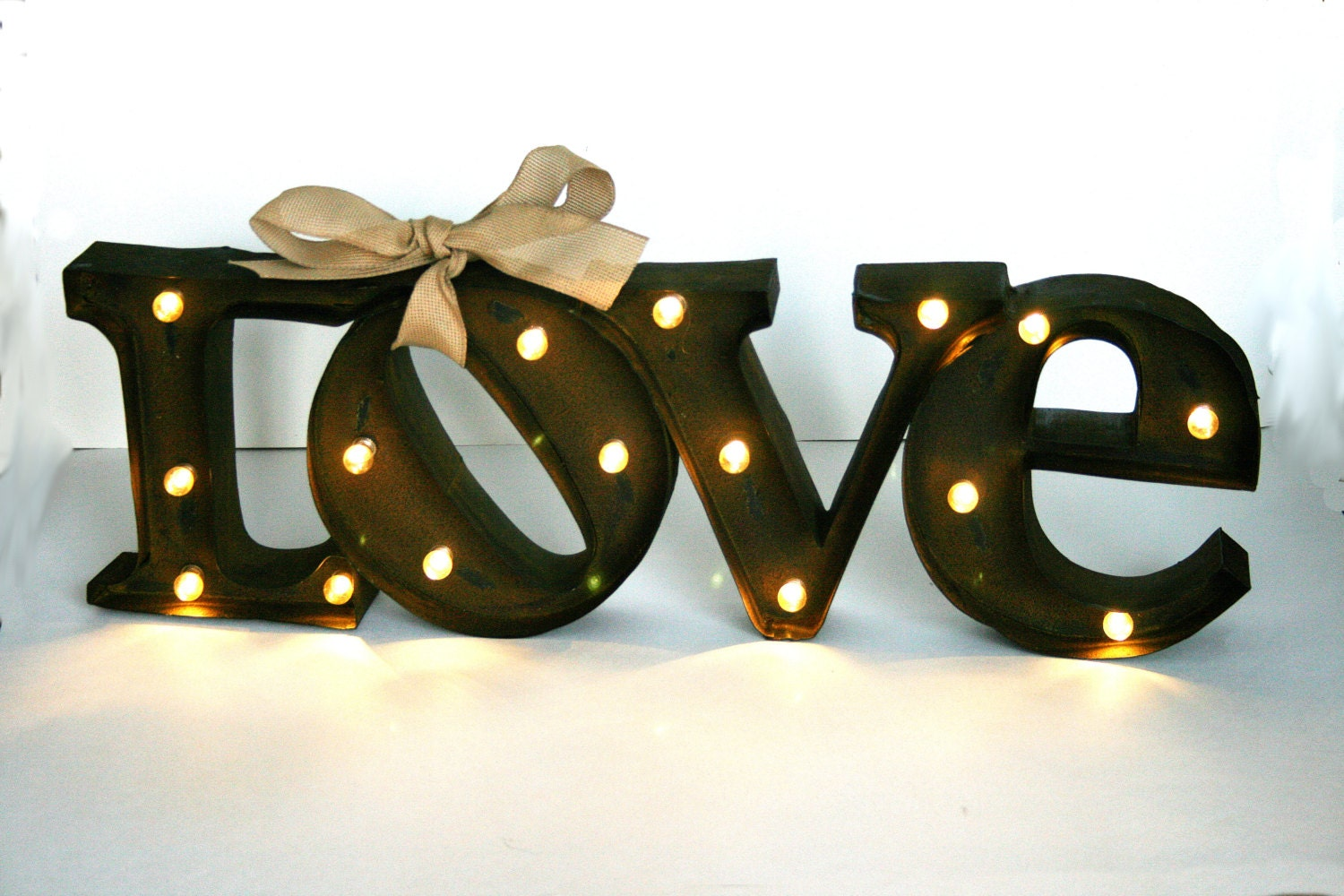 Marquee Love Sign / lighted marquee sign / LOVE sign