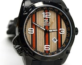 Skate Watch, Made in Canada,  Recycled Skateboard Watch - Second Shot Skate Watch