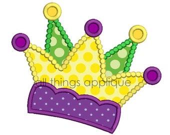 Mardi Gras Applique Design - Jester Hat (#606) - Mardi Gras Applique Design - 3 Sizes - INSTANT DOWNLOAD