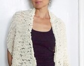 Hand Knit Shawl Knit Scarf Knit Wrap Oversized Knit Scarves for Women