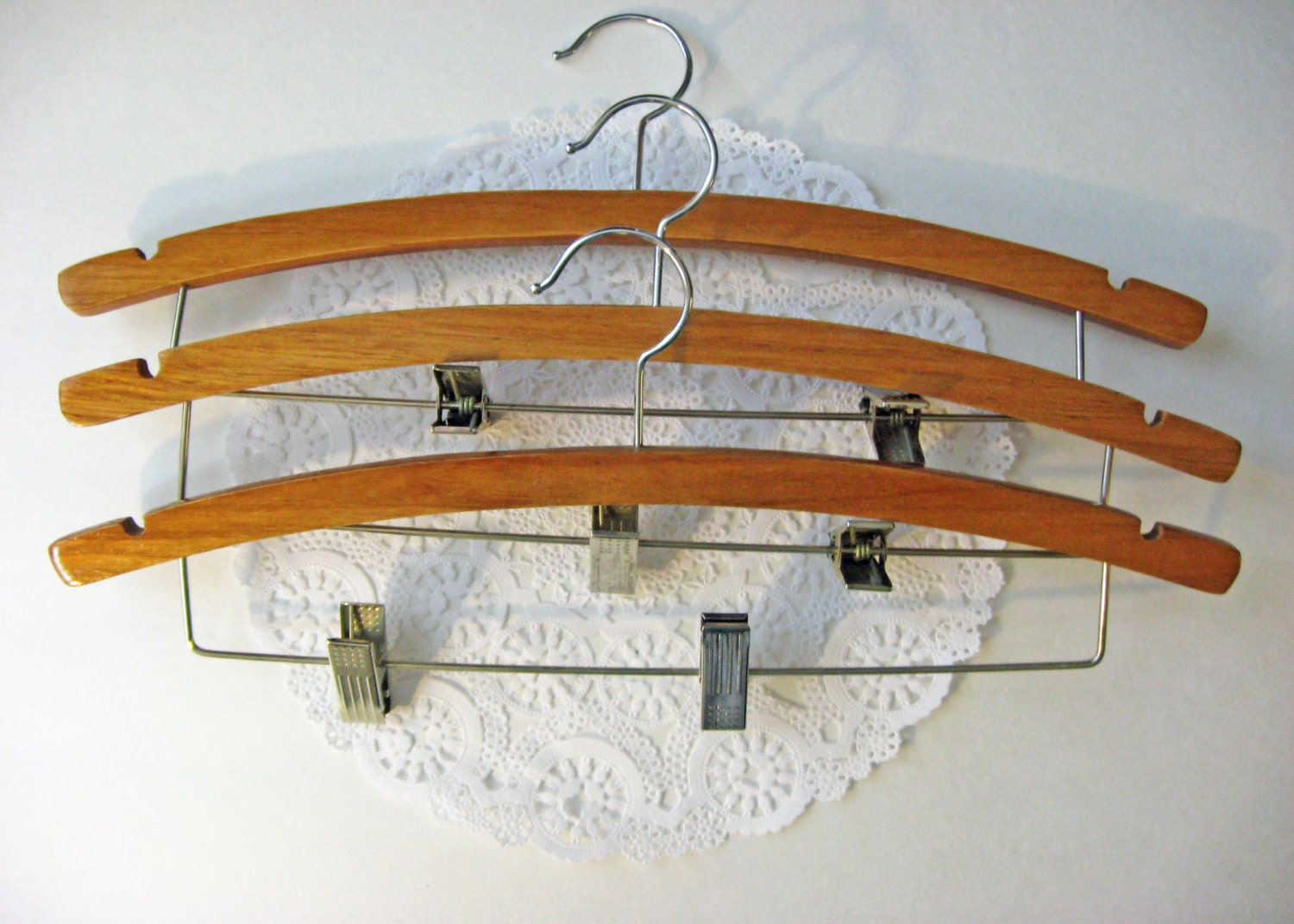 vintage wooden clamps