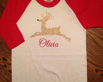 Childrens Reindeer Tee