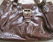 Isabella Fiore leather studded bag