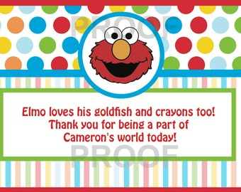 ELMO Thank You Card 3x5 (PDF)