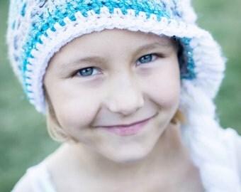 Ice Queen Wig Hat