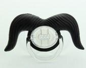 Mustache Pacifier Cowboy Mustache Pacifier Black Mustache