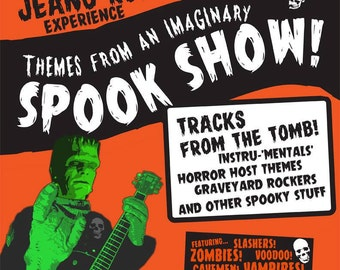 Themes From an Imaginary Spook Show - The Jeano Roid Experience