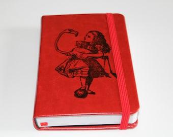 Alice In Wonderland Flamingo Journal Sketchbook