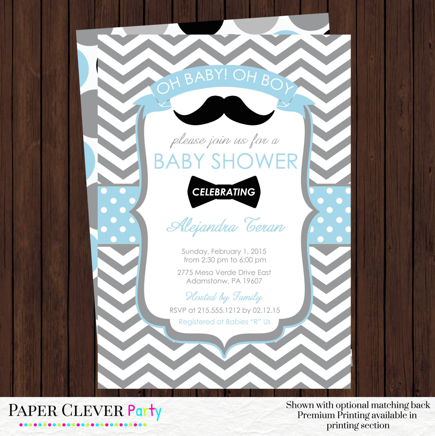 Little Man Baby Shower Invitations. Baby Shower Invitation Best 25 ...