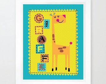Glenda the Giraffe