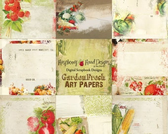 Garden Fresh Art Paper Set