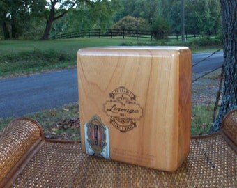 Cigar Box Alex Bradley The Lineage 1996 Top Shelf Blonde Wooden Chest Family Blend Limited Edition Four In Stock IndustrialPlanet