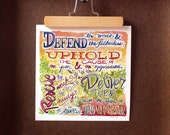 Defend Uphold Rescue Deliver Psalm 82:3-4
