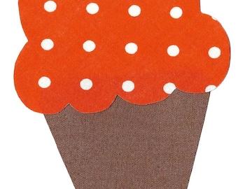 Ice cream cone iron on applique DIY