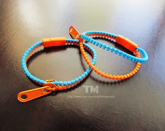 Thinking With Portals - Portal Inspired Zipper Bracelet
