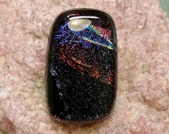 Dichroic Glass Cabochon DGC11