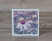 Wildflowers Art Magnet | Inspirational Quote | Wildflowers Best Stay Wild | Photography | Neodymium | Vintage Charm | Kitchen Fridge Magnet