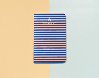 Stripe Pocket Notebook