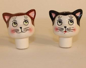 Vintage Kitty Cat Salt & Pepper Shakers