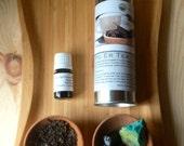 Stone, Tea, and aromather...