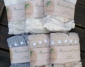 Sale! 60USD for 6pc merino wool diaper covers/ soakers / nappy wraps / cloth diapers / cloth nappy / wool wrap / nighttime
