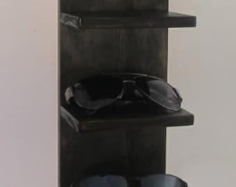 Wall Mounted Sunglasses Rack, Sunglasses Display, Sunglass Shelf Organizer